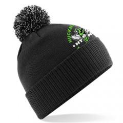Hucknall Netball Bobble Hat